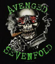 Avenged Sevenfold Smoking Skull Zacky Vengeance M. Shadows Men's Medium Shirt