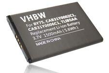 BATTERIE 1500mAh pour ALCATEL One Touch OT-995 Ultra OT-996 BY75 / CAB31Y0002C1