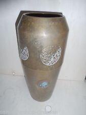 23031 WMF Vase Jugendstil Messing 33 cm vase art Nouveau brass Straußenmarke