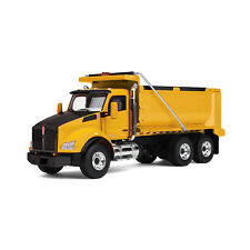 1:50 First Gear *YELLOW & BLACK* Kenworth T880 Dump Truck *NIB!*