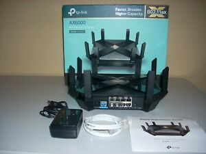 TP-Link Archer AX6000 5952Mbps 8 Ports Wi-Fi Router