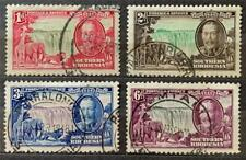 More details for south rhodesia. 1935 george v. silver jubilee set. sg31/34. fine used. #ts403