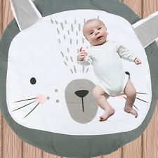 Large Rabbit Playing Carpet Game Gym Play Rug Mat Blanket Newborn Baby Kids Gift