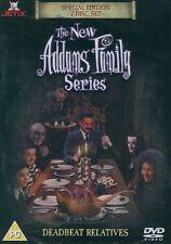 New Addams Family Double Disc  DVD Glenn Taranto, Michael Roberds, Ellie Harvie,