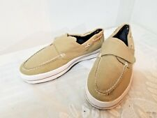 Beverly Hills Polo Club Men's Beige Hook-and-Loop Strap Shoes Size 9 3E