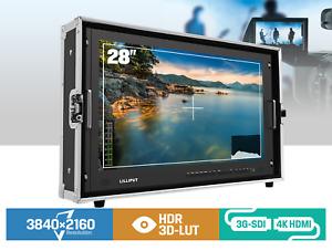 """LILLIPUT 28"""" BM280-4KS HDR 3D Luts Broadcast Ultra-HD 3G-SDI ,HDMI DVI + V Mount"""