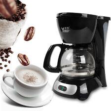 0.6L Drip Coffee Machine Espresso Automatic Plastic Coffee Maker Brew Tea Coffee