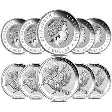 Lot of 10 - 2018 1 oz Silver Australian Kookaburra Perth Mint .999 Fine BU In