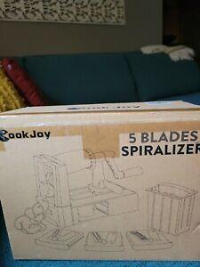 """5 blade-""""Cook Joy Spiralizer"""""""