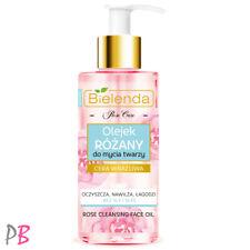 Bielenda Rose Care Deep Cleansing Face Oil OCM Facial Make Up Remover 140ml