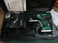 Hitachi 18V Li-On Drill and Light Kit DV18DGL, New in Box