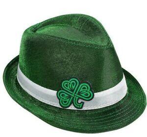 CELTIC SHAMROCK FEDORA Unisex One Size - St. Patrick's Day