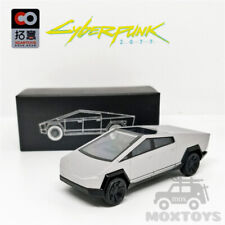 Xcartoys 1:64 Tesla Cybertruck Truck 01 Silver Diecast Model Car