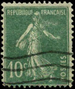 France Scott #163a Used  Type I