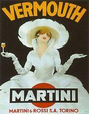 VERMOUTH MARTINI - ART POSTER - 24x36 PRINT 36085