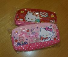 New 2 Hello Kitty Makeup Cosmetic Bag Pouch Organizer Pen Pencil Party Favors