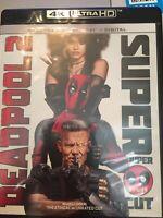 Deadpool 2 Super Duper Cut 4K Ultra HD Blu Ray - Ryan Reynolds, Josh Brolin