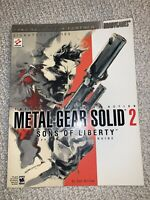 Metal Gear Solid 2 Official Strategy Guide Brady Games PB Konami Dan Birlew