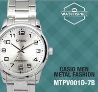 Casio Men's Standard Analog Watch MTPV001D-7B MTP-V001D-7B