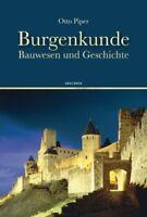 Otto Piper - Burgenkunde #B1997590