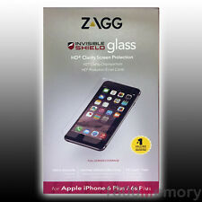 ZAGG Invisible Shield Tempered Glass Screen Protector for iPhone 6 Plus 6S+ 5.5""