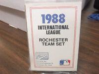 1988 ProCards International League Rochester Team Set jh19