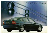 VAUXHALL VECTRA aka CHEVROLET VECTRA GL / GLS LEAFLET. 06.98 [BRAZIL]