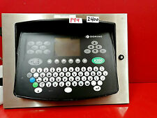DOMINO A200 Pinpoint Etikettiermaschine Display