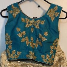 Bollywood Indian Pakistani Ethnic Party Wear Lengha Choli Blouse Top