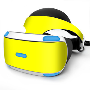 Skin Wrap for Sony Playstation PSVR Headset Bright Yellow