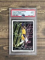 2019 PANINI DONRUSS #16 COMPLETE Lebron James PSA 9 MINT - LOS ANGELES LAKERS