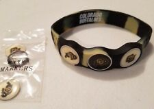 Wrist Skins Golf Ball Marker Bracelet,Colorado Buffaloes, Magnetic,Size Large