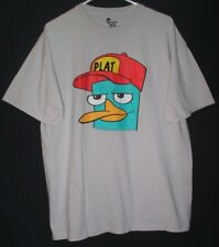 Disney Phineas And Ferb T Shirt XL Perry The Platypus Cartoon Character Comedy