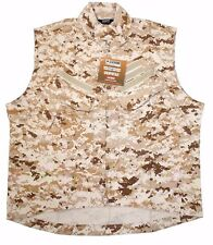 BLACKHAWK! XLarge Combat Tactical Performance Range Vest Desert Digital AOR1 DM3