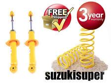 4 Rear Suspension Kit Toyota Corolla ZZE122 123 Gas Struts Shock + Springs All
