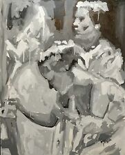 Axel Rodríguez(peinture à l'huile,oil painting,cuadro,dipinto,pintura)cert)92x73