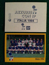AZZURRI CON IP 1998 98 ITALIA 1994 SQUADRA Figurina Sticker Merlin New