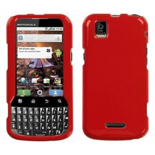 Flaming Red Hard Case Phone Cover Motorola XPRT MB612
