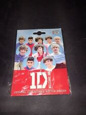 One direction collectable button badges