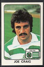 Panini 1979 Football Sticker - No 456 - Joe Craig - Celtic