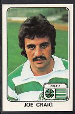 PANINI CALCIO 1979 Autoadesivo-n. 456-Joe Craig-CELTIC