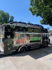 Gmc Catering Truck - New Interior - 98000 Miles - La County Permit