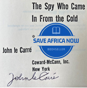 THE SPY WHO CAME IN FROM THE COLD John le Carre (1963) SIGNED  Book Club Edition
