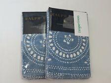 2 Ralph Lauren Isla Belize Standard Shams NIP