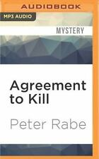Agreement to Kill by Peter Rabe (2016, MP3 CD, Unabridged)