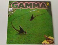 GAMMA - GAMMA  2 VINYL LP UK K52245 WITH INNER ex/ex elektra