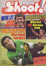 PETER SHILTON / FRANK BRUNO / LIVERPOOL / MARK WARD WEST HAMShoot26July1986