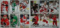 2019-20 Upper Deck UD Carolina Hurricanes Series 1 & 2 Team Set 12 Hockey Cards