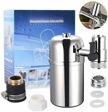 Faucet Water Filter Purifier System  3 Adapters 1 Ceramics Filter Included BNIB
