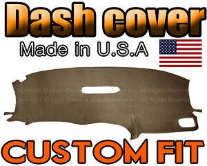 fits 2001-2007   DODGE CARAVAN  DASH COVER MAT DASHBOARD PAD /  TAUPE